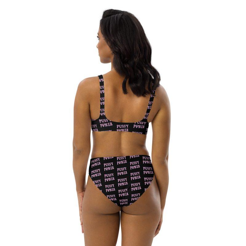 Pussy Power Recycled High-waisted Bikini