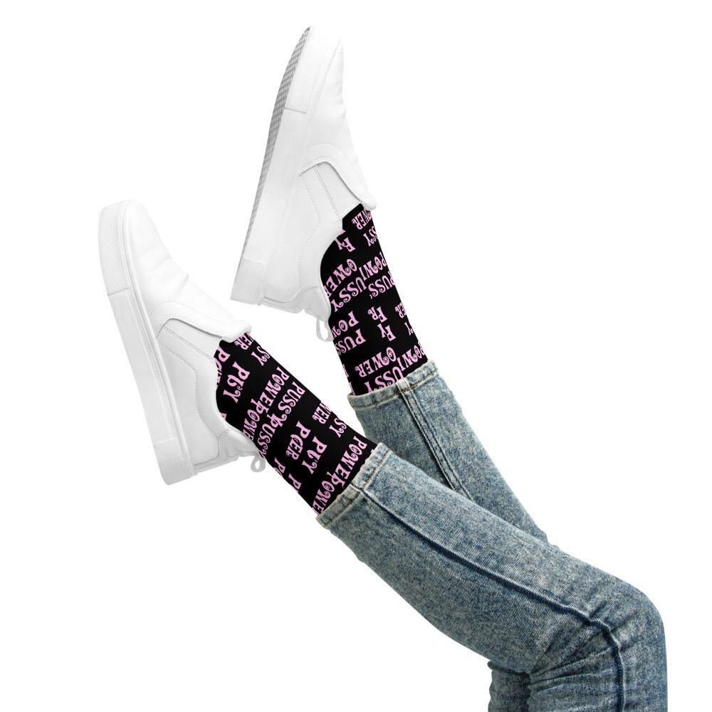 Pussy Power Basketball Socks