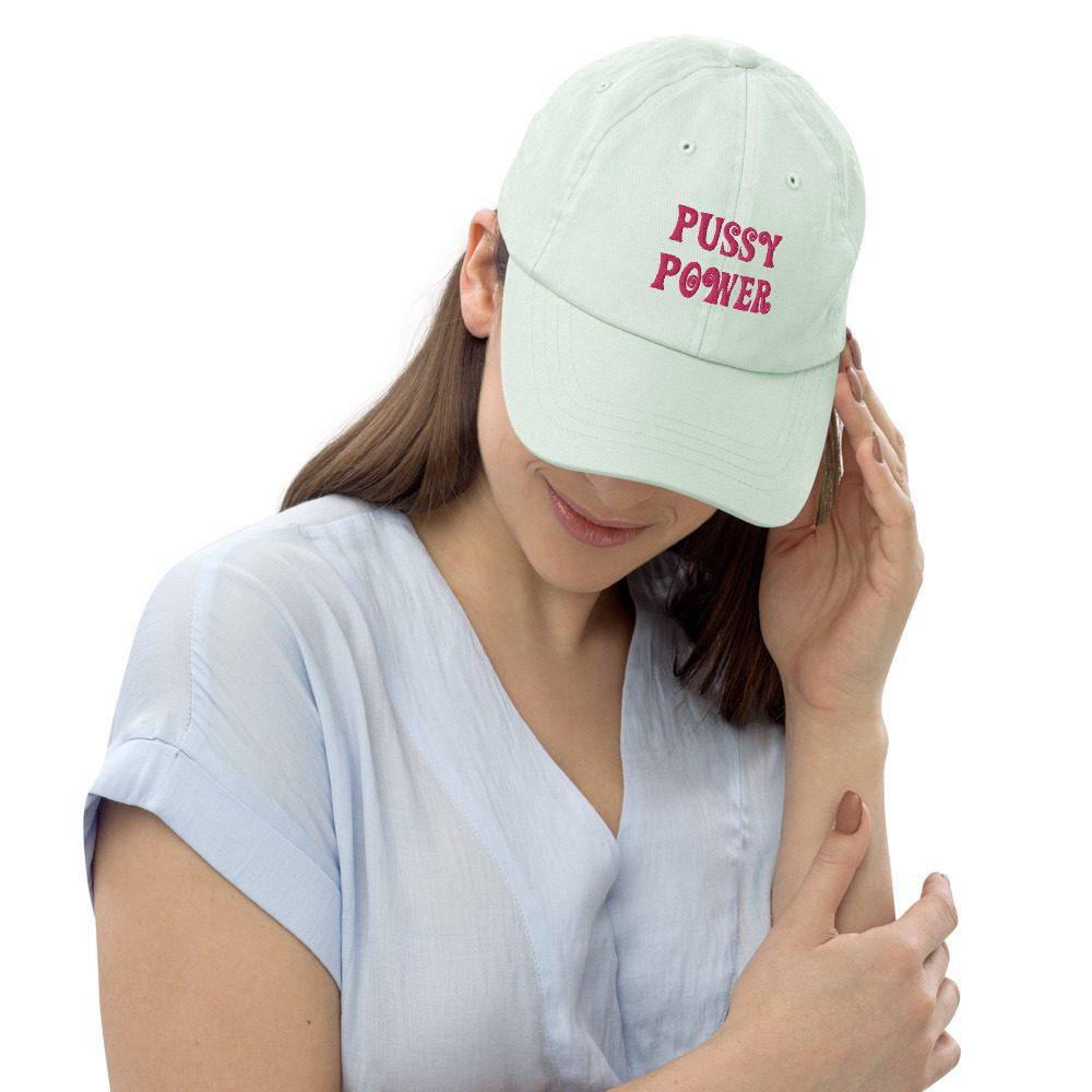 Pussy Power Pastel Baseball Hat