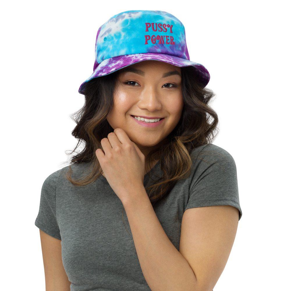 Pussy Power Tie-dye Bucket Hat
