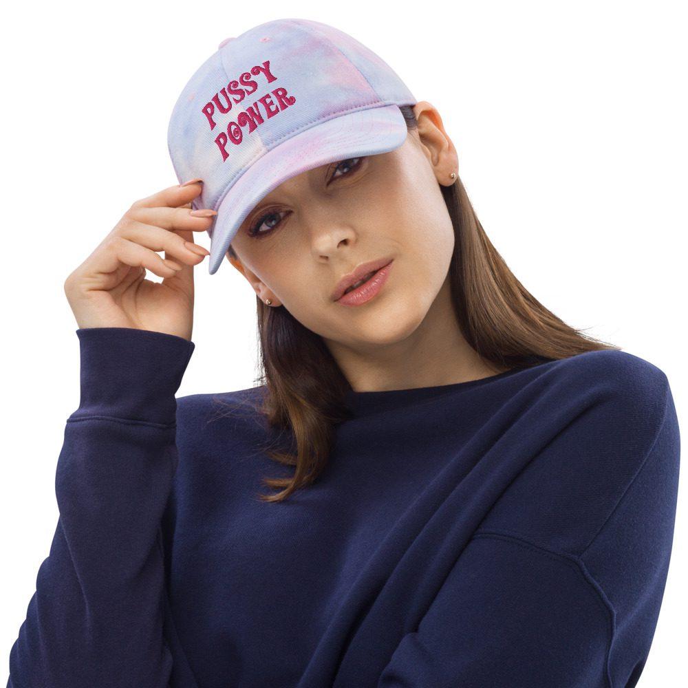 Pussy Power Tie Dye Hat