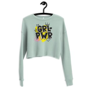 GRL PWR Crop Sweatshirt